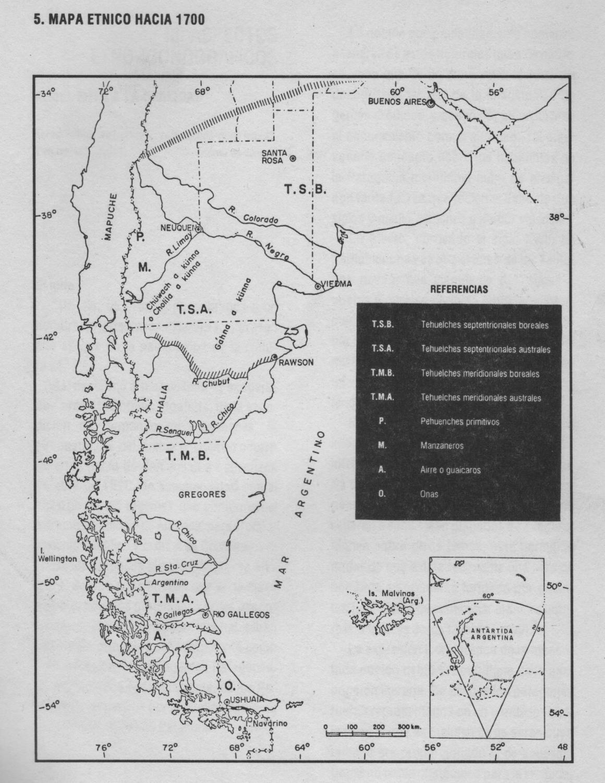 Mapa de categorías etnológicas