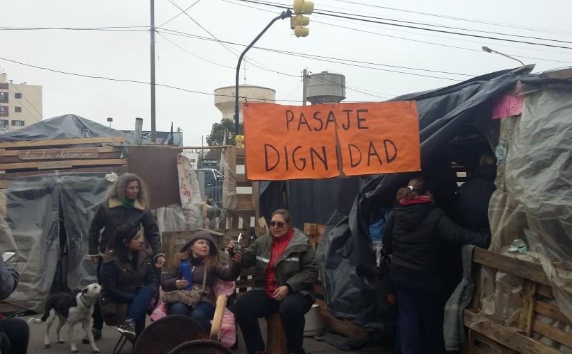"""Asamblea en """"La Villa Docente""""(Rawson)"""