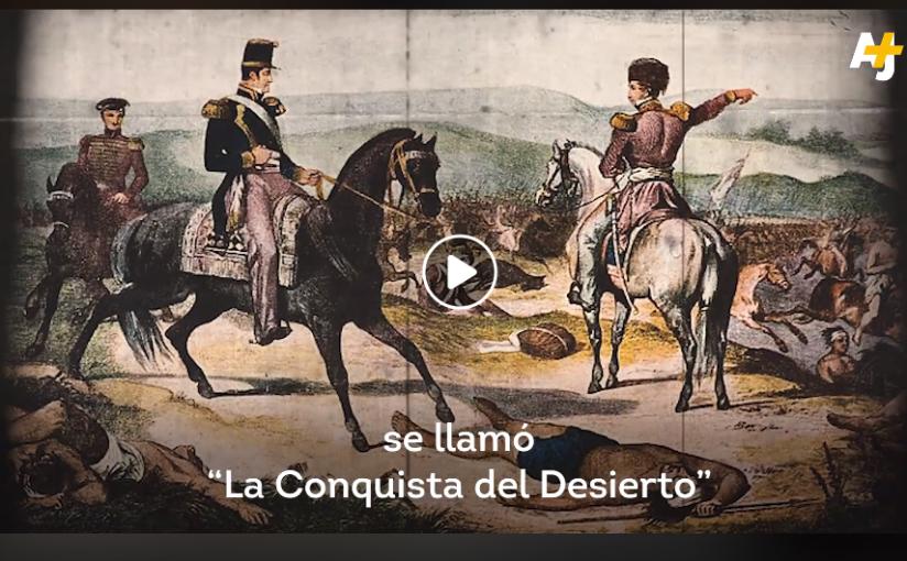 """""""¿De dónde son los mapuches? Ni chilenos niargentinos""""."""