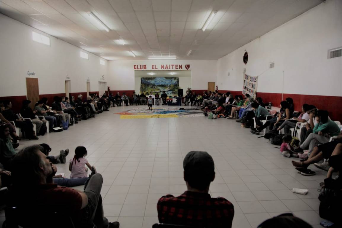 Proclama del Parlamento por el Agua y en Defensa del RíoChubut.