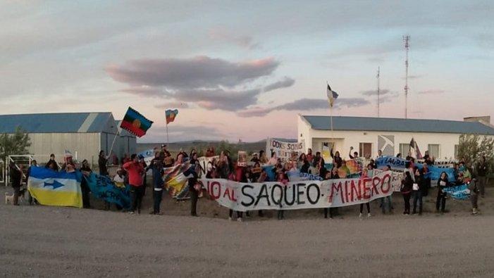 Comunicado en apoyo a la lucha contra la Megaminería en la provincia deChubut.