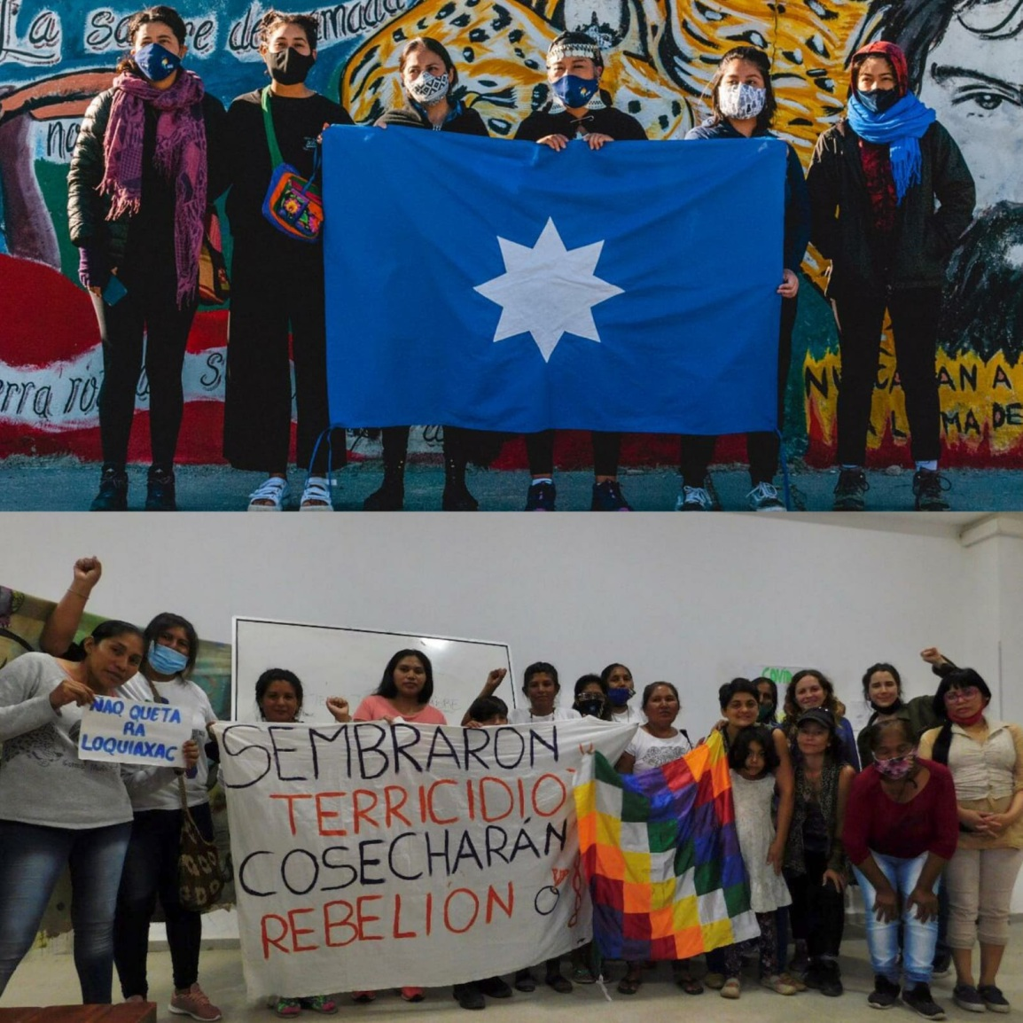 """El Movimiento de Mujeres Indígenas por el Buen Vivir : """"Somos porque caminamos y caminamos paraser"""""""